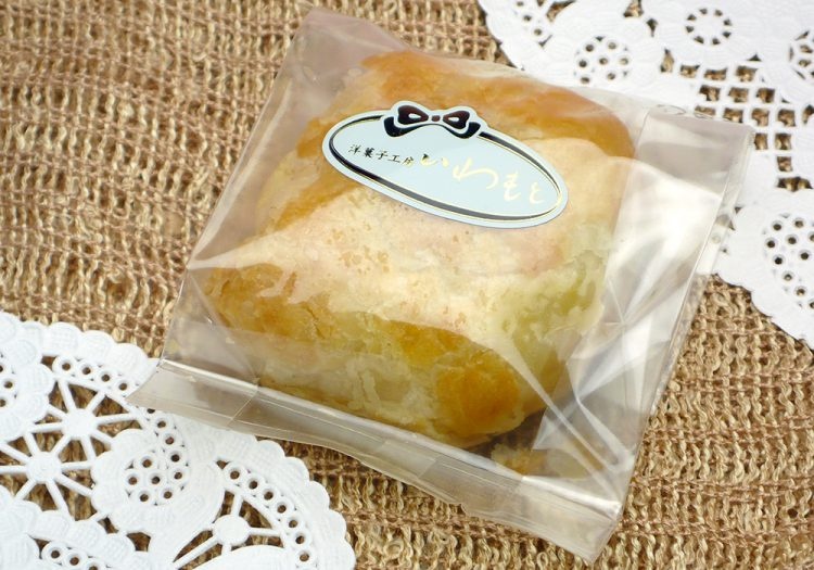 マロンパイの包装
