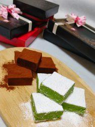 バレンタインにとろける生チョコレート