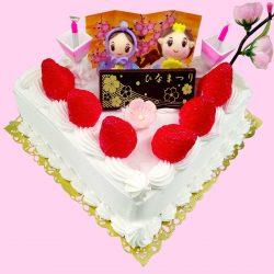 いわもとのひな祭りケーキ2021年版