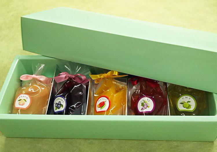 フルーツゼリー5個入箱