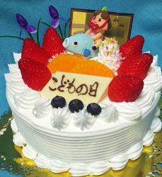 こどもの日 デコレーションケーキ