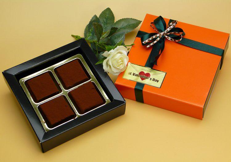 生チョコレート 4個入
