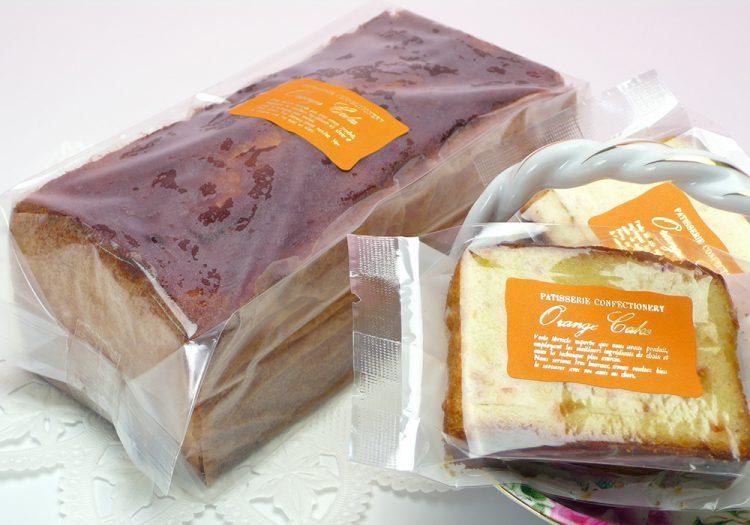 パウンドケーキ オレンジ パッケージ