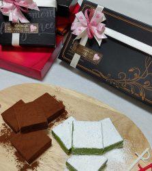 バレンタインの生チョコレート